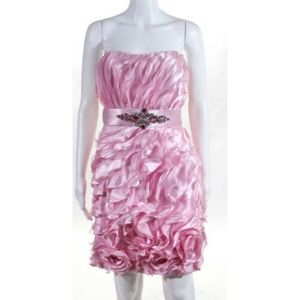 NWT Tony Bowls Pink Cocktail Dress Size 4